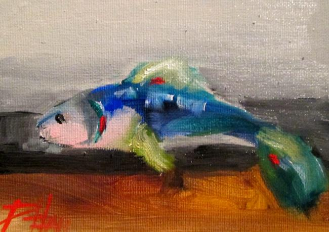 Art: Fish No. 10 by Artist Delilah Smith