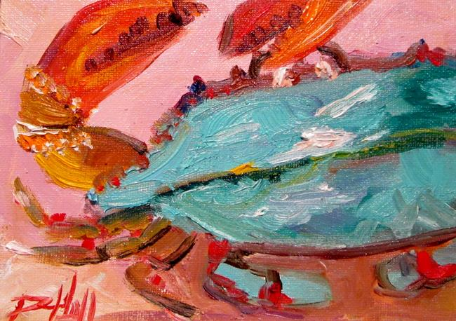 Art: Blue Crab No. 22 by Artist Delilah Smith