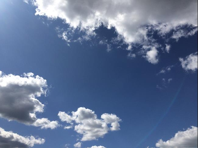 Art: Clouds by Artist Vic Ki Lynn