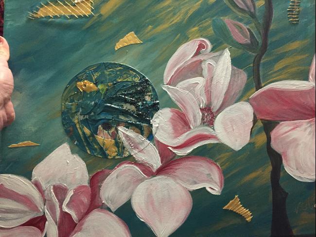Art: Golden Thread by Artist Vic Ki Lynn