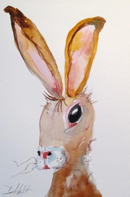 Art: Rabbit No. 10 by Artist Delilah Smith