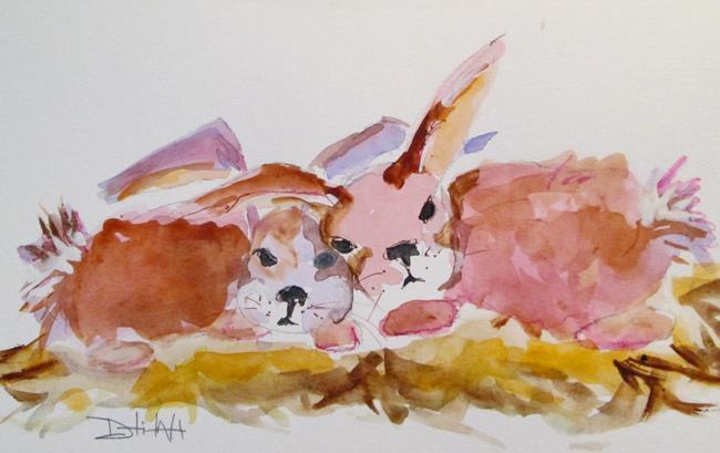 Art: Rabbit No. 11 by Artist Delilah Smith