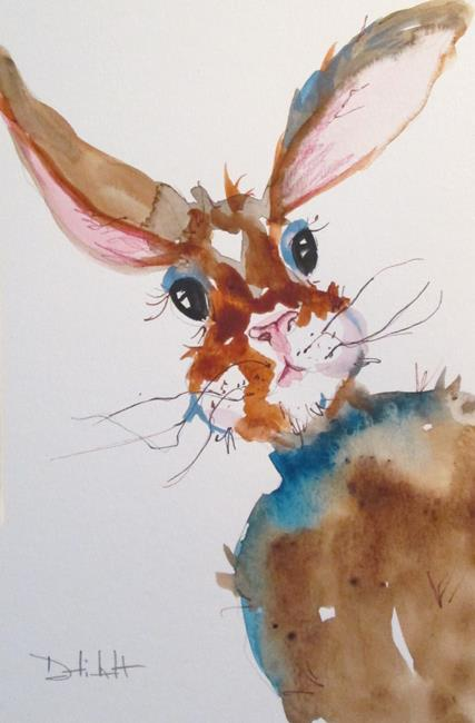 Art: Rabbit No. 12 by Artist Delilah Smith