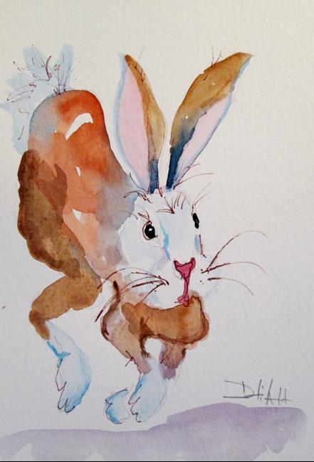 Art: Rabbit No. 13 by Artist Delilah Smith