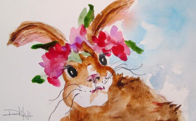 Art: Rabbit No. 9 by Artist Delilah Smith