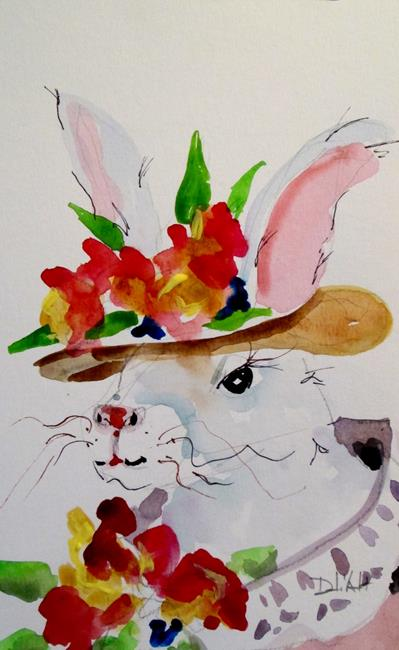 Art: Rabbit No. 14 by Artist Delilah Smith