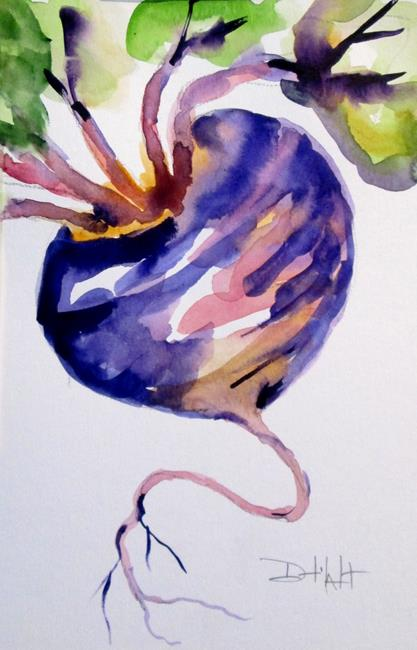 Art: Vegetable No. 1 by Artist Delilah Smith