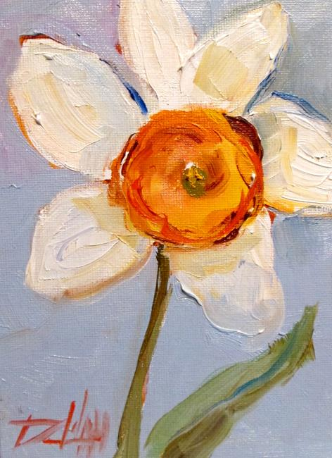 Art: Daffodil No. 6 by Artist Delilah Smith