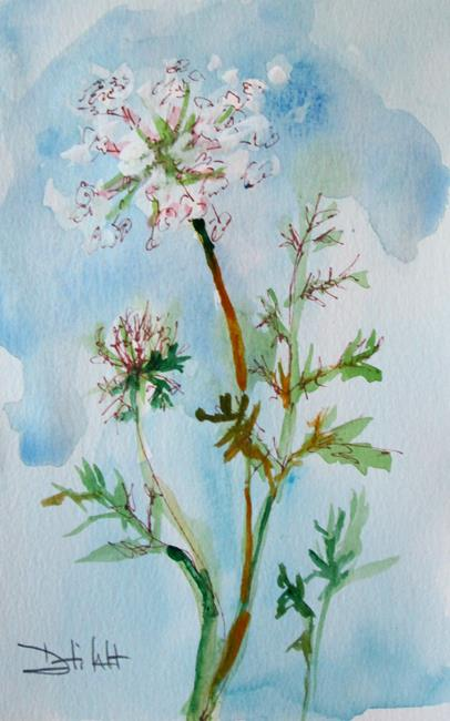 Art: Queen Ann's Lace by Artist Delilah Smith