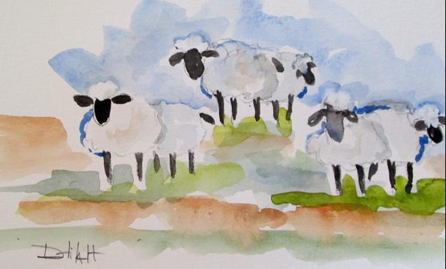 Art: Sheep No. 2 by Artist Delilah Smith