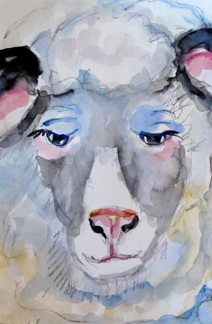 Art: Sheep No. 3 by Artist Delilah Smith