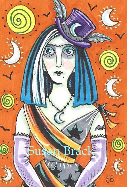 Art: MISS HALLOWEEN by Artist Susan Brack