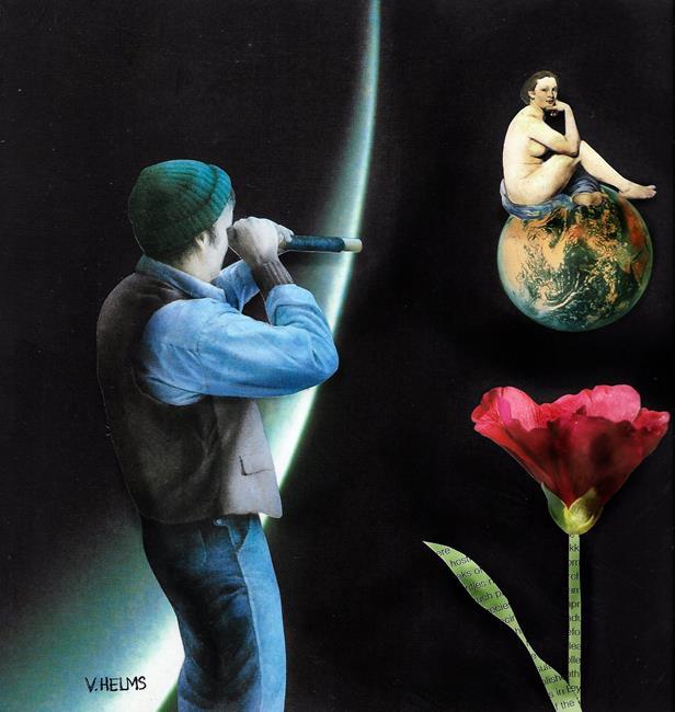 Art: Stalking Manet by Artist Vicky Helms