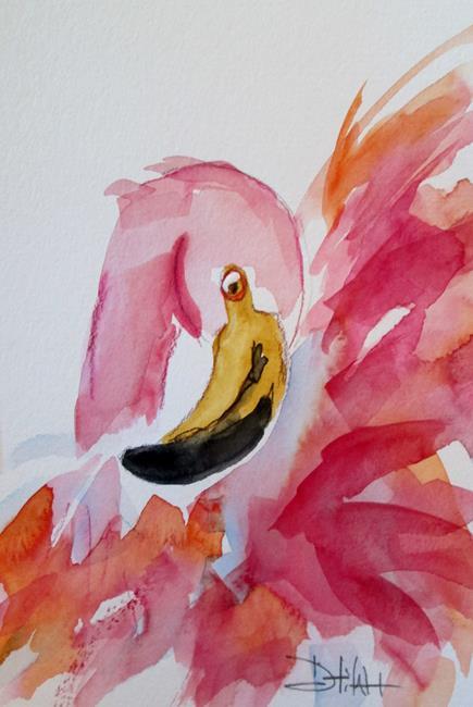 Art: Flamingo No. 30 by Artist Delilah Smith
