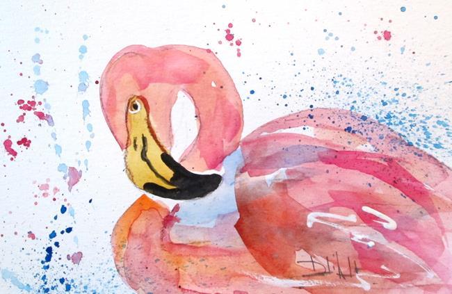 Art: Flamingo No. 34 by Artist Delilah Smith