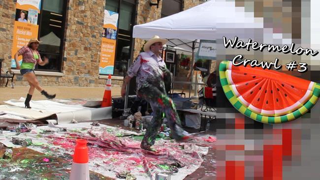 Art: Watermelon Crawl3 Allegro Still1 by Artist Anthony Allegro