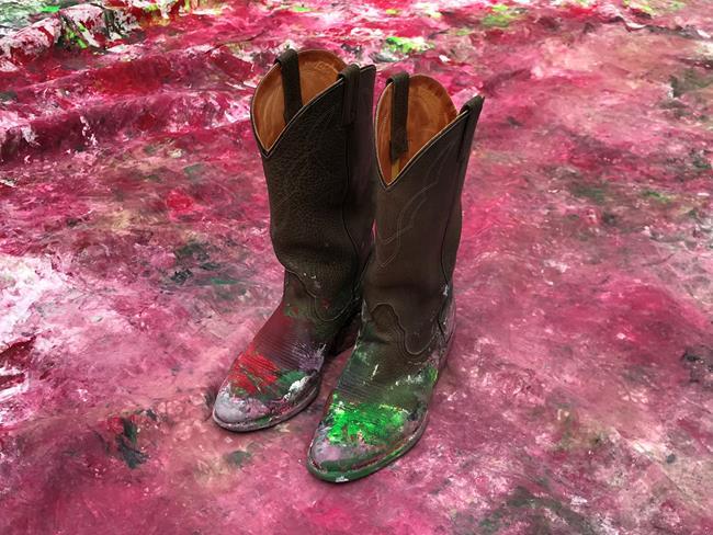Art: Watermelon Boots3 by Artist Anthony Allegro