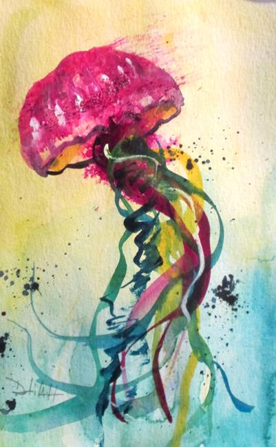 Art: Jellyfish No. 12 by Artist Delilah Smith