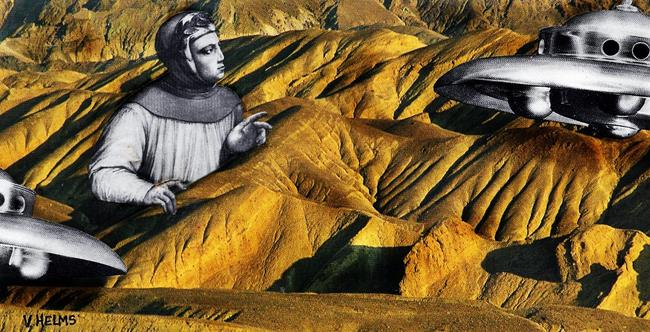 Art: Otherworldly by Artist Vicky Helms