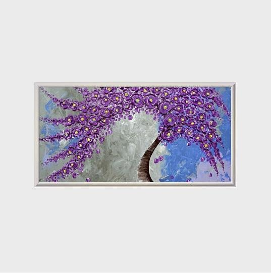 Art: Amethyst Enchantment by Artist Amber Elizabeth Lamoreaux