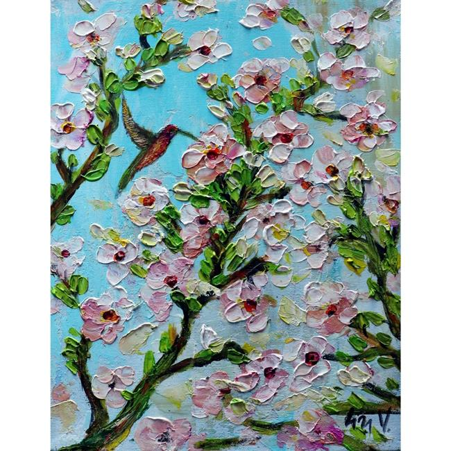 Art: Happy Spring by Artist LUIZA VIZOLI