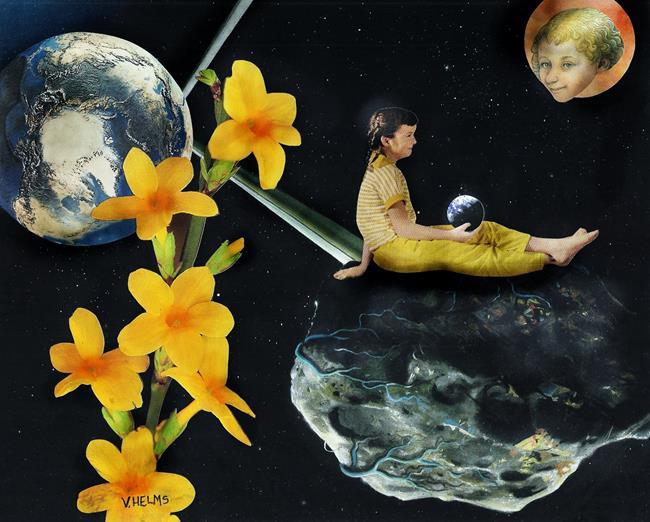 Art: Infinite Hope by Artist Vicky Helms