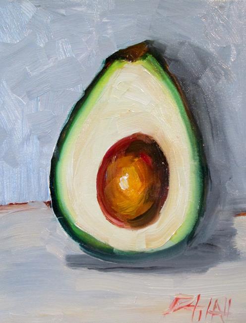 Art: Avocado No. 7 by Artist Delilah Smith