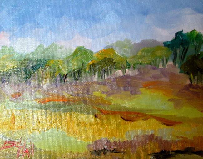 Art: Landscape No. 6 by Artist Delilah Smith