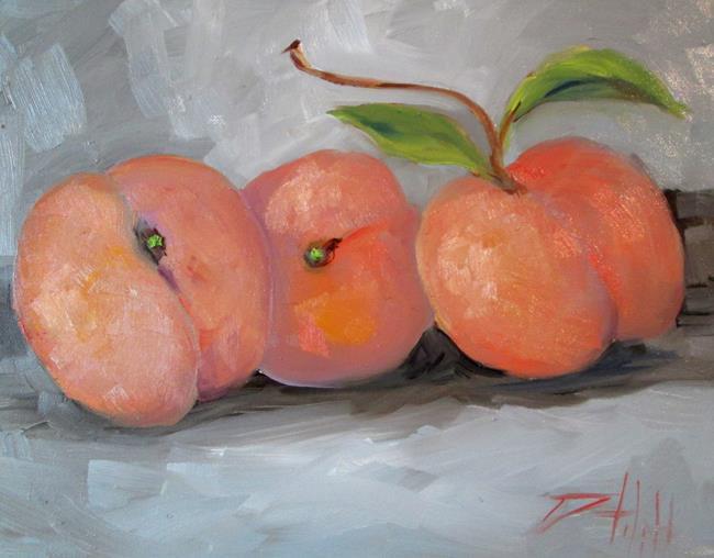 Art: Peachs by Artist Delilah Smith