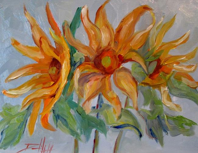 Art: Sunflowers No.6 by Artist Delilah Smith