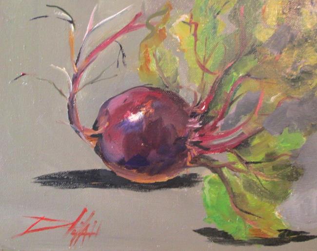 Art: Beet by Artist Delilah Smith