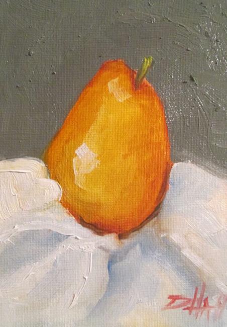 Art: Pear Still Life by Artist Delilah Smith