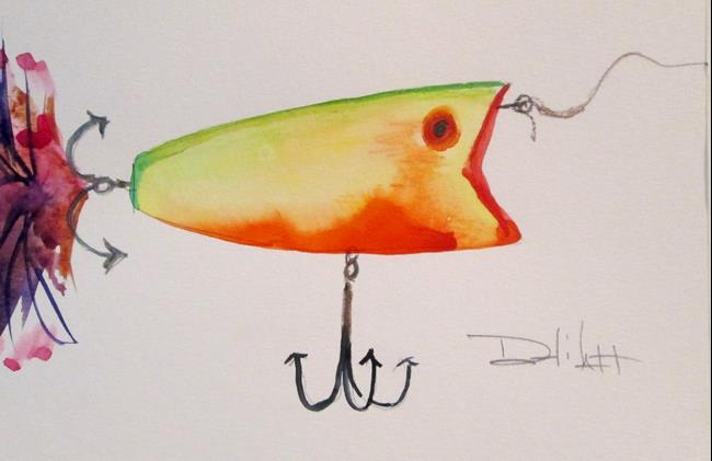 Art: Fishing Lure No. 16 by Artist Delilah Smith
