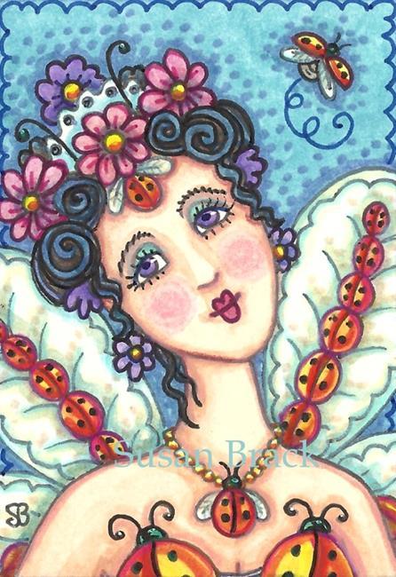 Art: ALWAYS A LADY by Artist Susan Brack