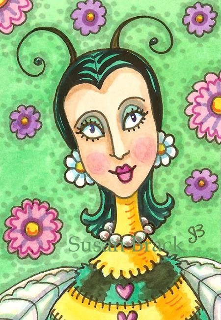 Art: AUNT BEE by Artist Susan Brack