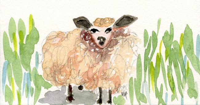 Art: Fluffy Dagmar by Artist Gabriele Maurus