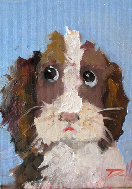 Art: Dog No. 6 by Artist Delilah Smith