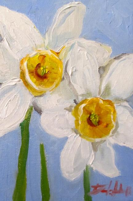 Art: Daffodils No. 4 by Artist Delilah Smith