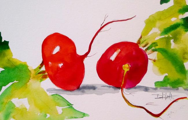 Art: Radish by Artist Delilah Smith
