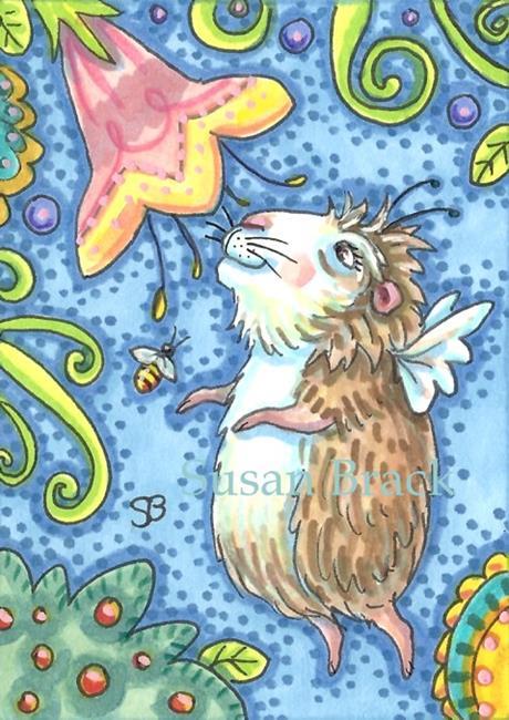 Art: LOOKING FOR SOMETHING SWEET by Artist Susan Brack