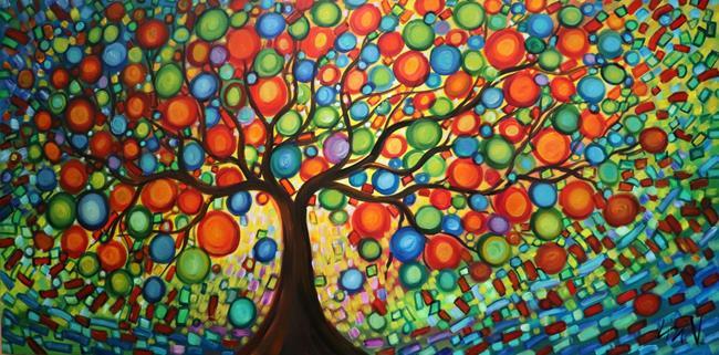 Art: LEMON TREE of LIFE by Artist LUIZA VIZOLI