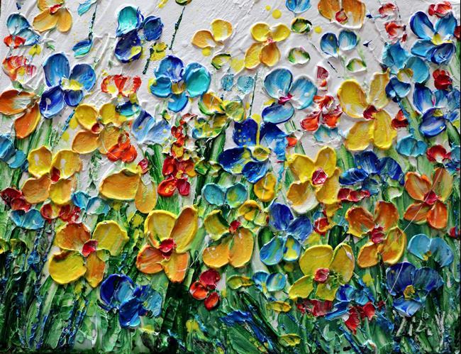 Art: ARRIVAL OF SPRING by Artist LUIZA VIZOLI