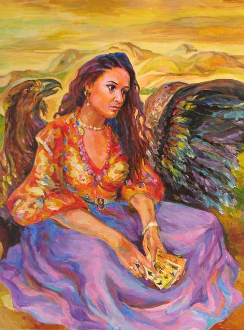 Art: Fortune teller by Artist Luda Angel