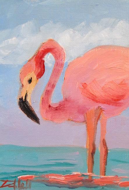 Art: Flamingo No. 36 by Artist Delilah Smith