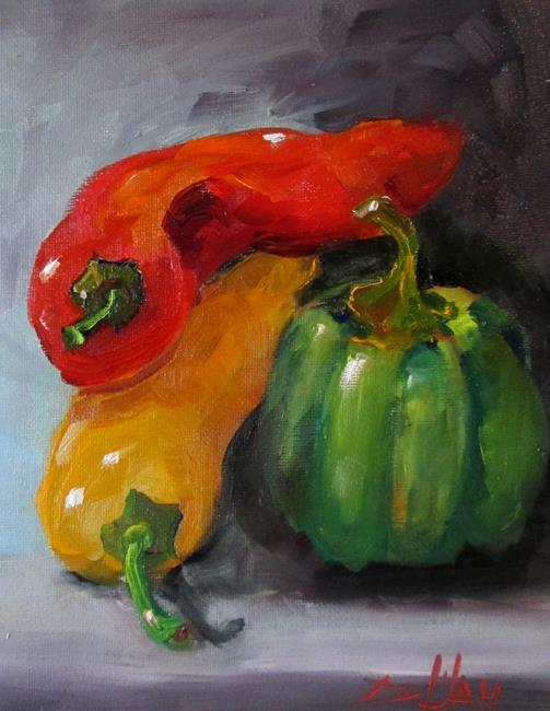 Art: Pepper Still Life by Artist Delilah Smith