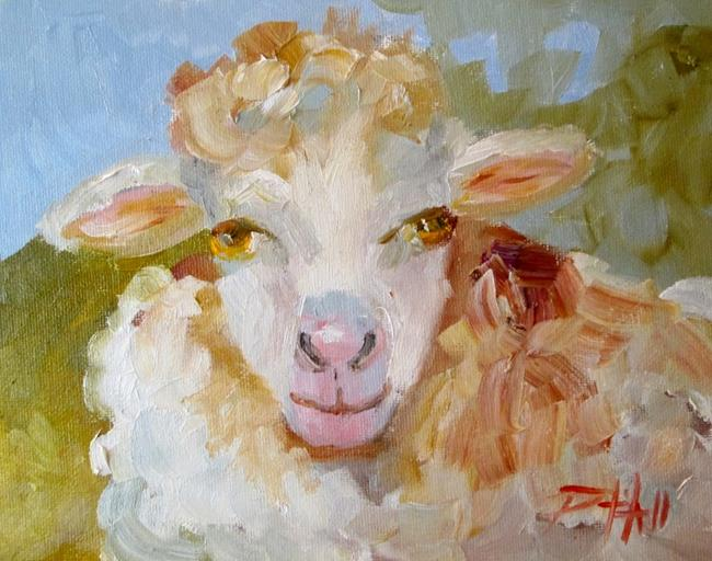 Art: Sheep No. 9 by Artist Delilah Smith