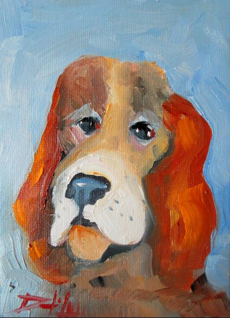 Art: Dog No. 7 by Artist Delilah Smith