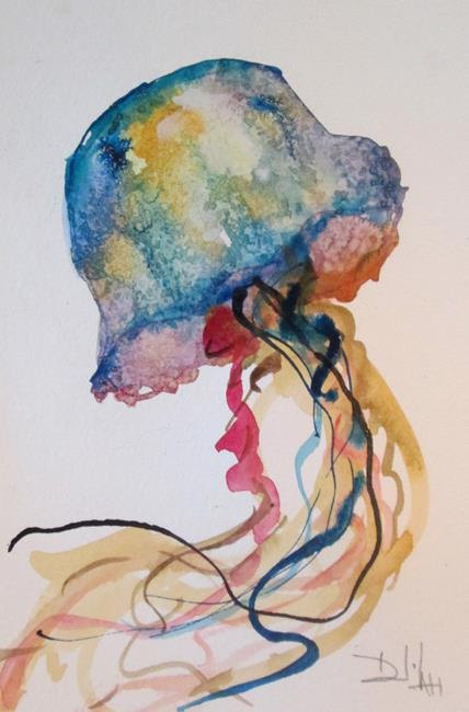 Art: Jellyfish No. 17 by Artist Delilah Smith