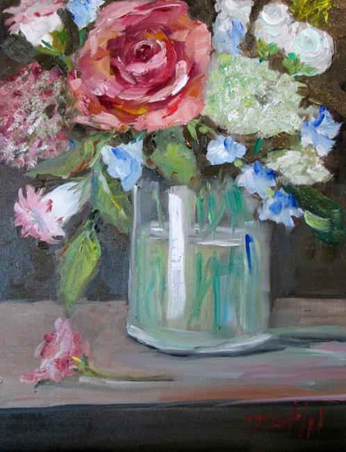 Art: Large Bouquet by Artist Delilah Smith
