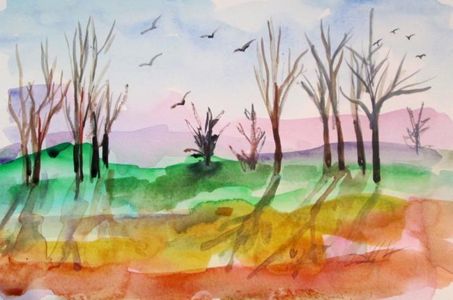 Art: Landscape No. 5 by Artist Delilah Smith